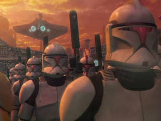 Off to the Clone Wars