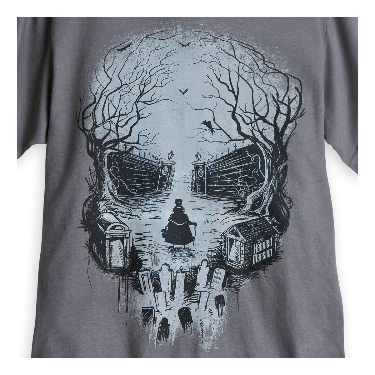 Hatbox Ghost Skull Tee for Men - The Haunted Mansion   shopDisney