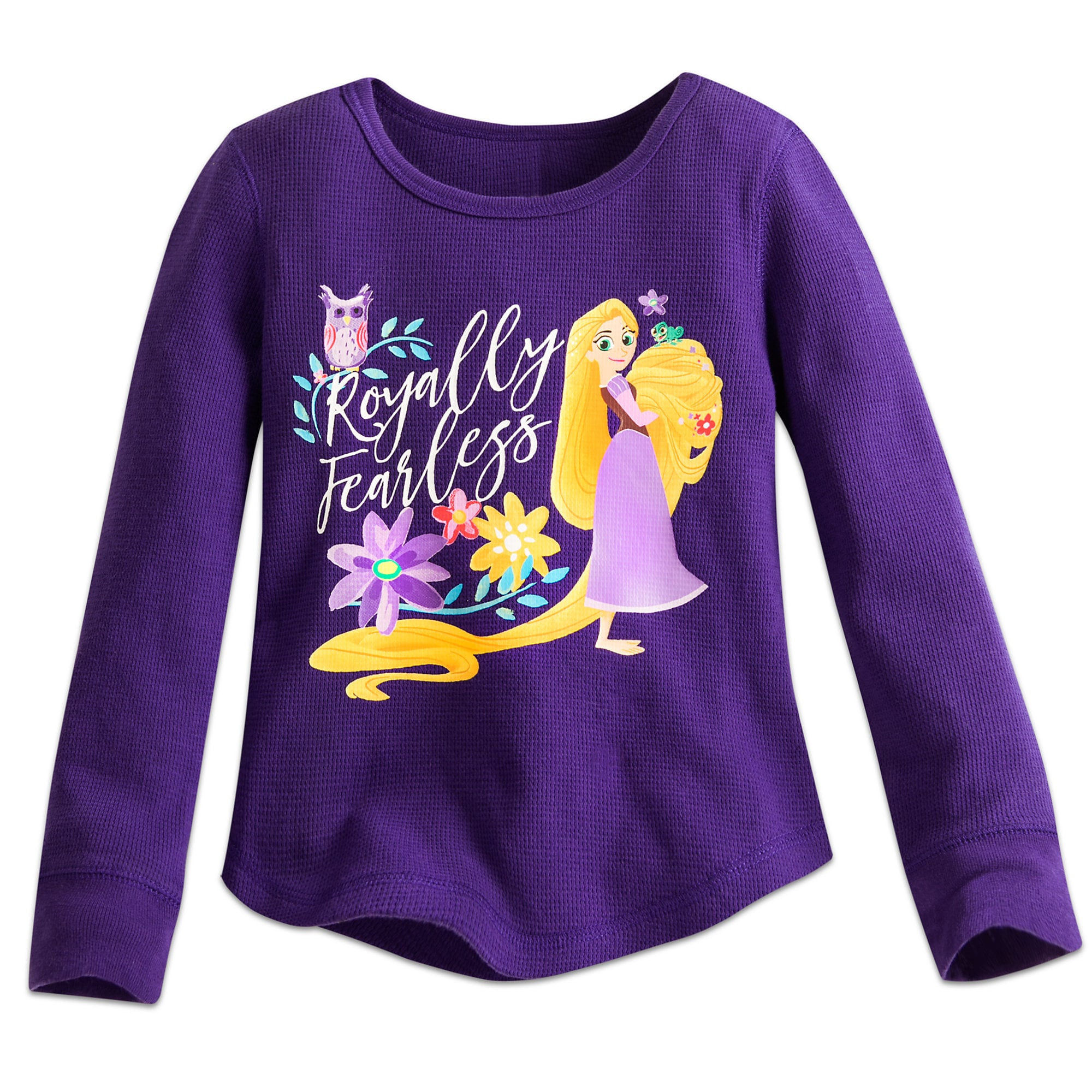 Rapunzel Thermal Tee for Girls - Tangled: The Series