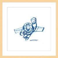 Buzz Lightyear ''Buzz'' Framed Giclée on Paper by Bob Pauley - Limited Edition