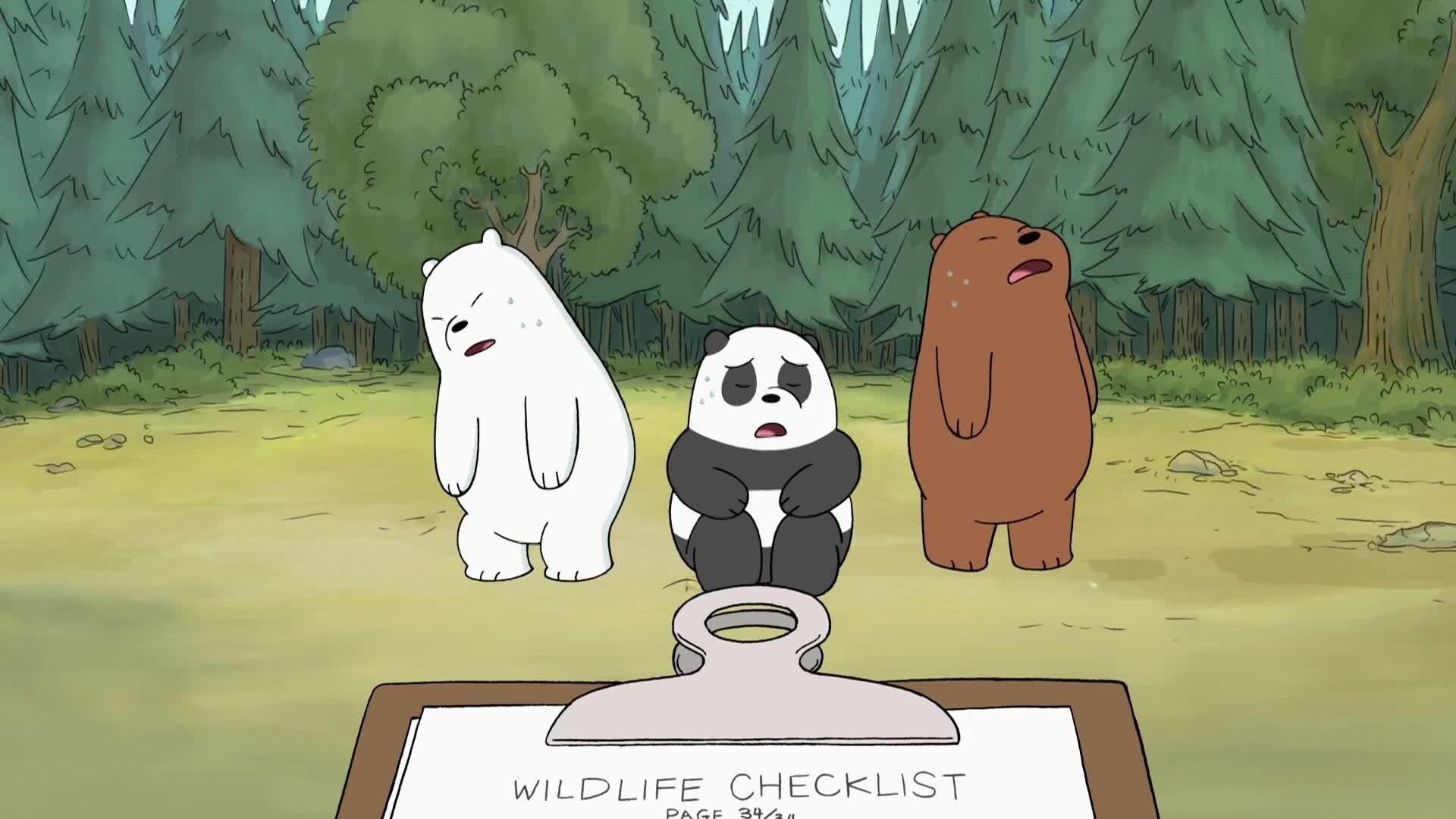 We Bare Bears - Bären wie wir - Wir und Tabes Kündigung / Wir und der Nachtkampf