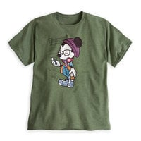 Mickey Mouse ''Happiest Hipster on Earth'' Tee for Adults
