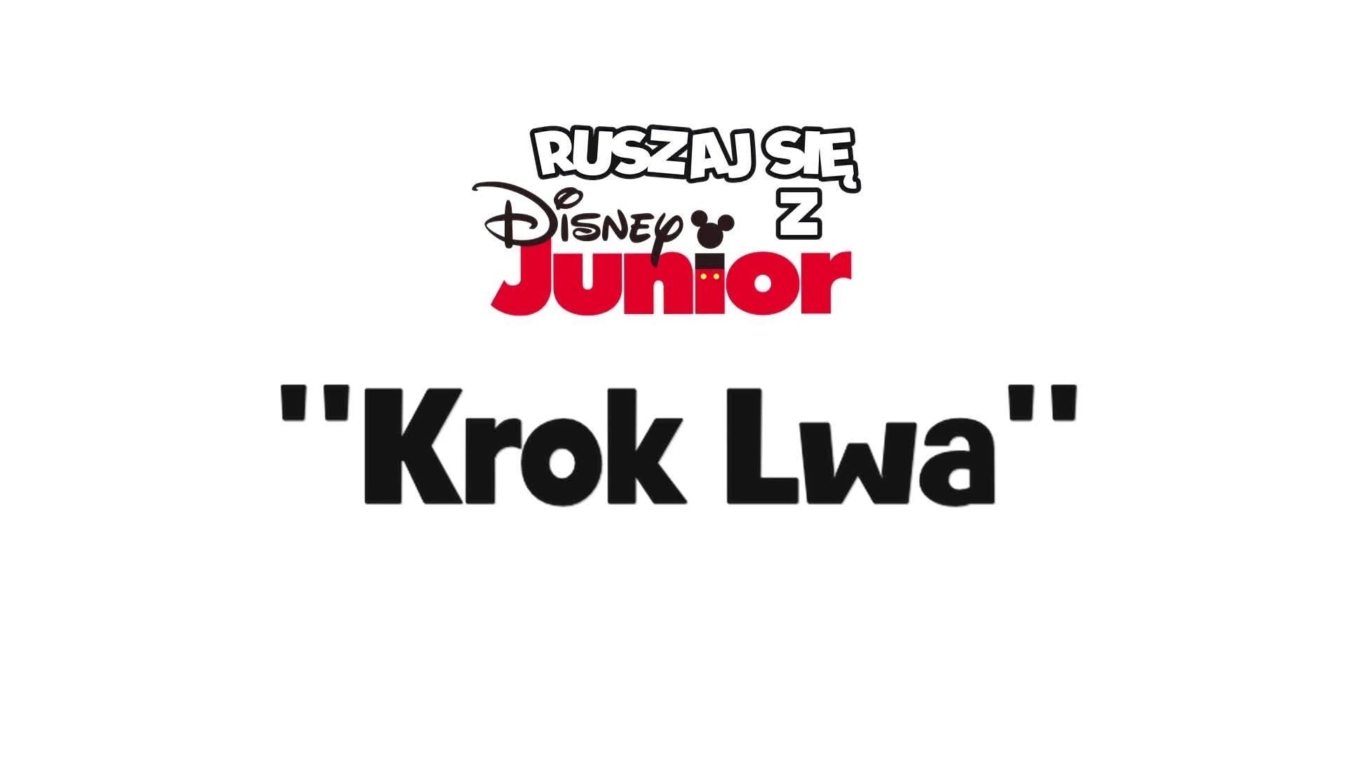 Trenuj z Agnieszką Dąbrowską-Perzyną: Krok lwa