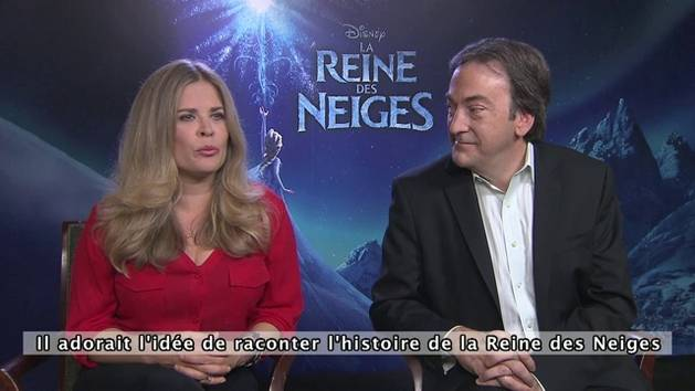 La Reine des Neiges - Interview de l'équipe du film