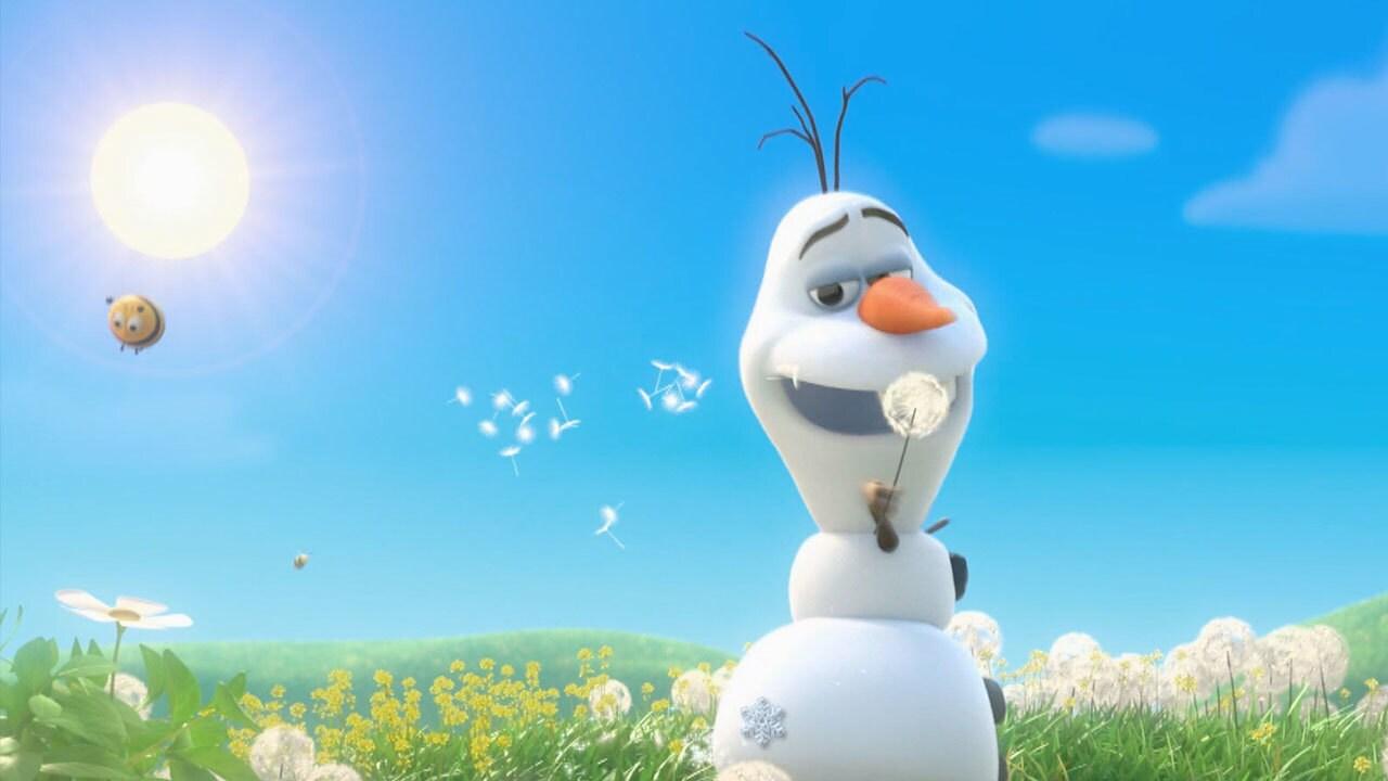 """Verano"" - Frozen: una Aventura congelada"