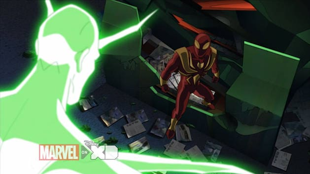 Ultimate Spider-Man - Iron Spider