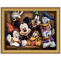 Image of Mickey Mouse ''The Gang'' Giclée by Darren Wilson # 7