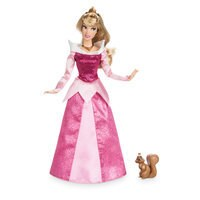 Image of Aurora Classic Doll with Squirrel Figure - 11 1/2'' # 1