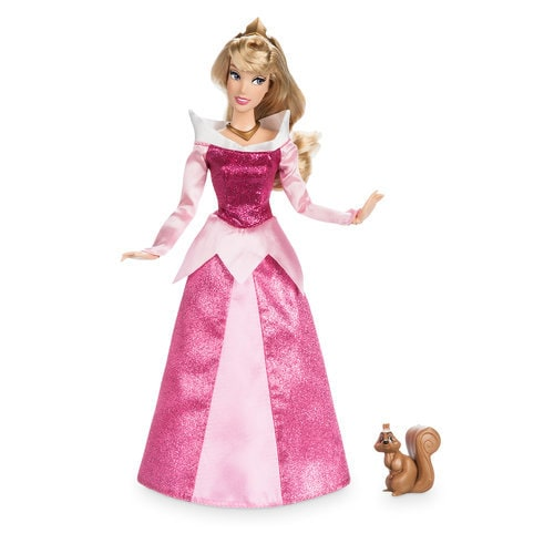 Aurora Classic Doll With Squirrel Figure 11 1 2