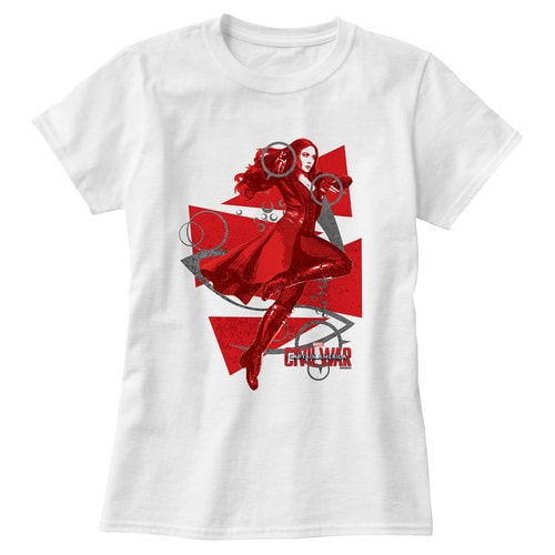 Scarlet Witch Tee For Women Captain America Civil War