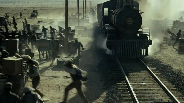 Choque de tren - El Llanero Solitario
