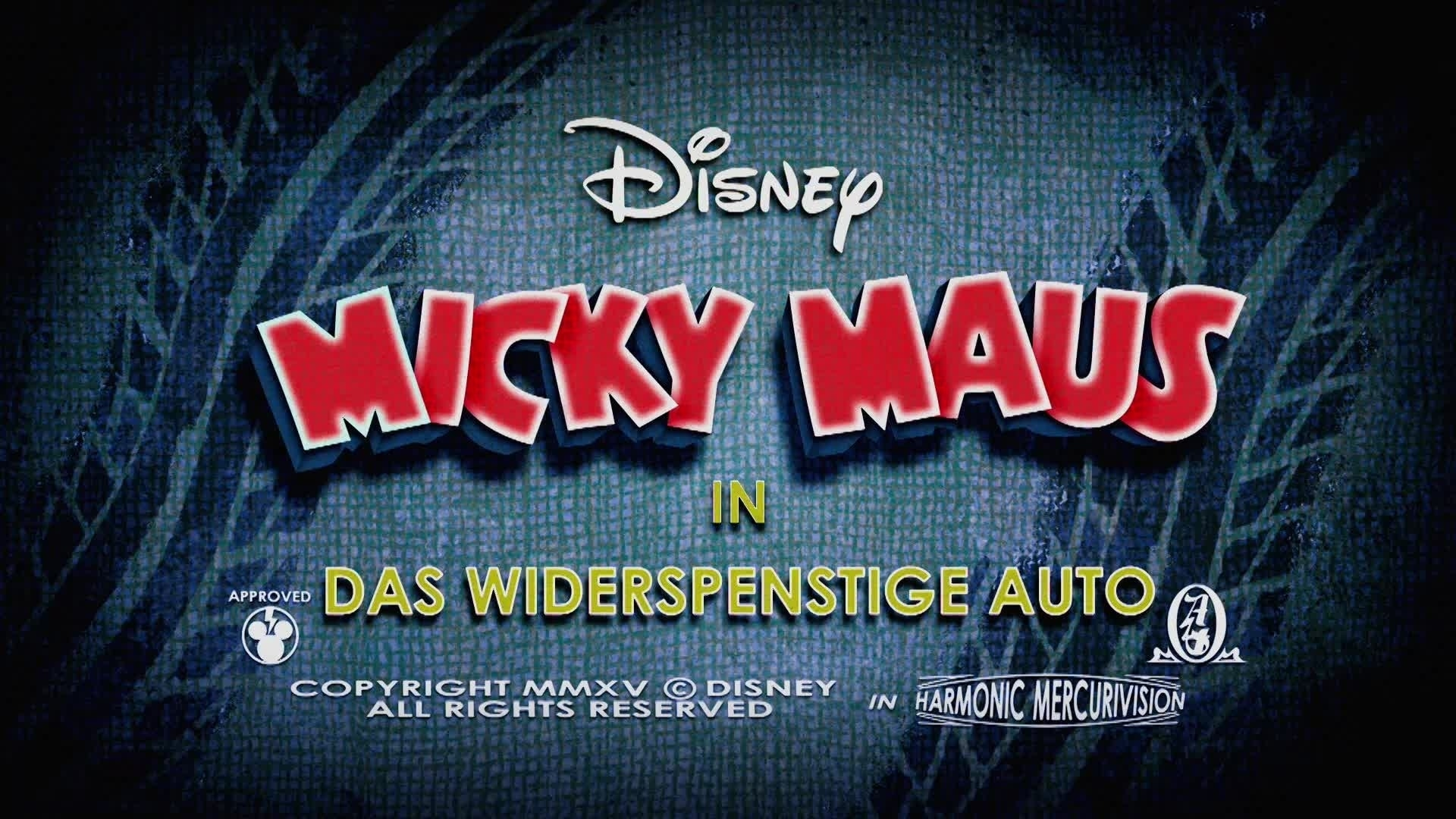 Micky Short: Das widerspenstige Auto