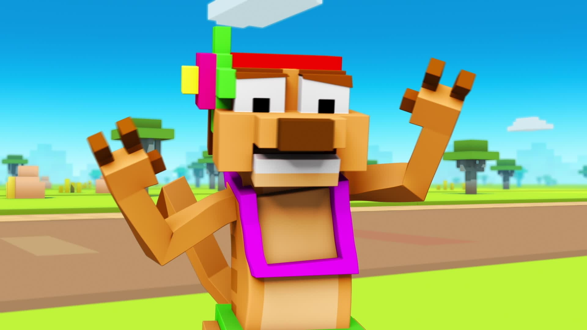 Disney Crossy Road: Grub Grapple