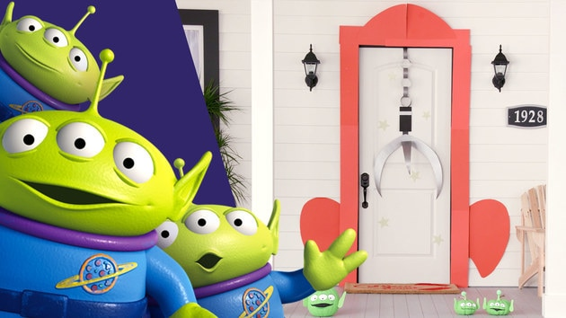 Toy Story Door Décor | Disney DIY by Disney Family
