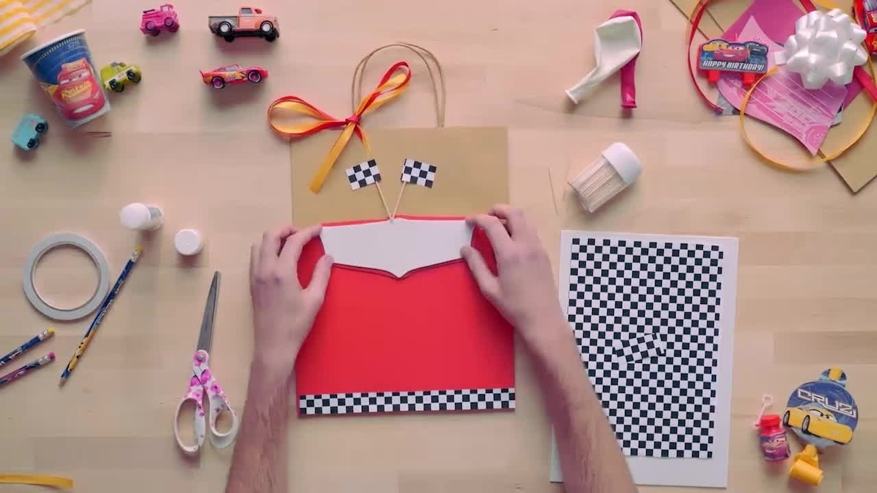 DIY: Cars 3 Themed Bags
