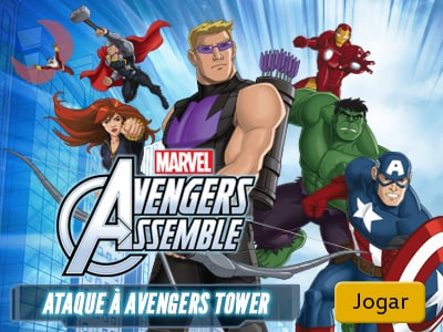 Ataque à Avengers Tower Marvel Kids