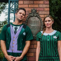 The Haunted Mansion Host Costume Tee for Men
