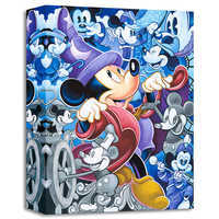 Image of Mickey Mouse ''Celebrate the Mouse'' Giclée by Tim Rogerson # 1