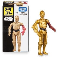 Image of C-3PO Mini Metal Action Figure by Takara Tomy - Star Wars: The Force Awakens # 1