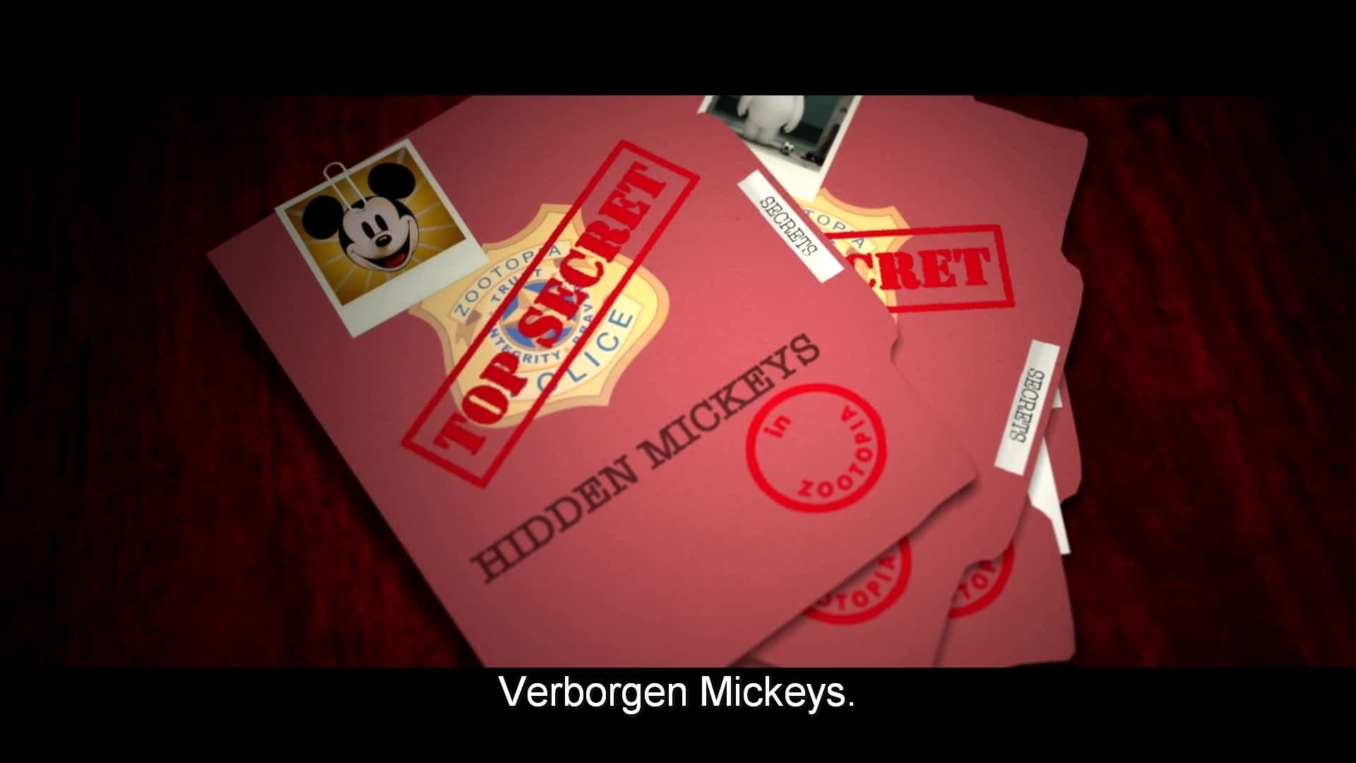 Zootropolis - The ZPD Forensic Files: Verborgen Mickey's