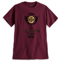 Hollywood Tower Hotel Crest Tee for Adults