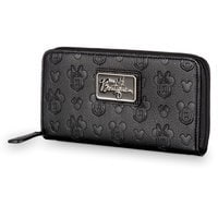 Mickey and Minnie Mouse Embossed Wallet - Disney Boutique
