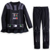 Image of Darth Vader Costume PJ PALS for Boys # 4