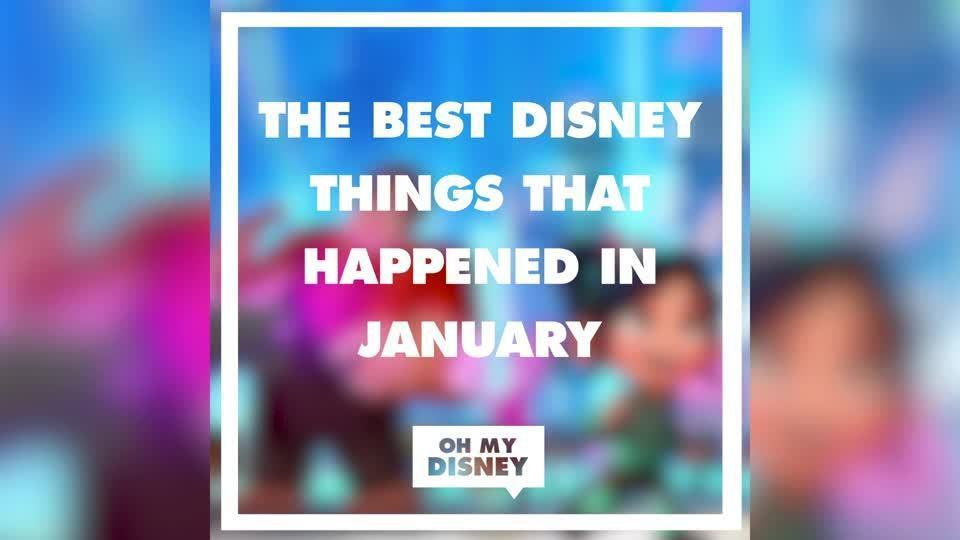 The Best Disney Things That Happened in January | Oh My Disney