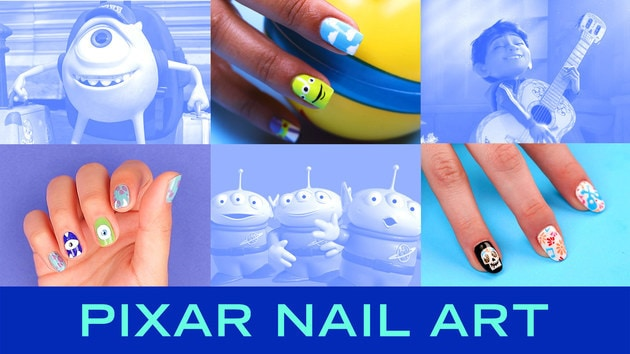 3 Disney•Pixar Nail Art Ideas | TIPS by Disney Style