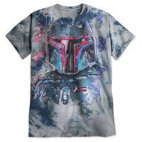 Boba Fett Tie-Dye Tee for Adults