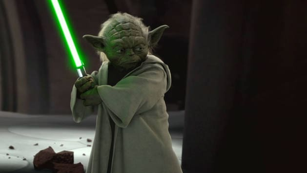Star Wars - Yoda vs Greve Dooku