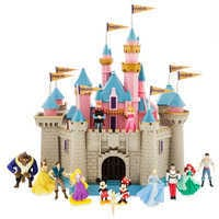 Image of Sleeping Beauty Castle Play Set - Disneyland # 1