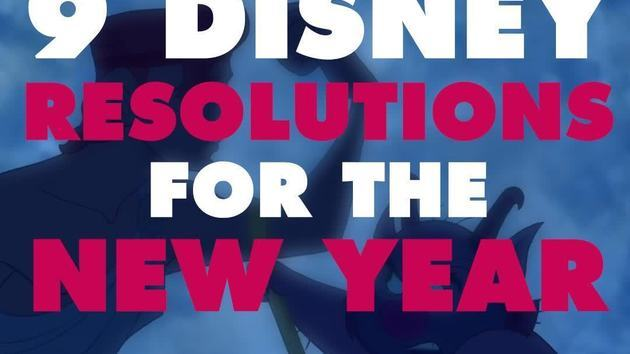 9 Disney Resolutions for the New Year