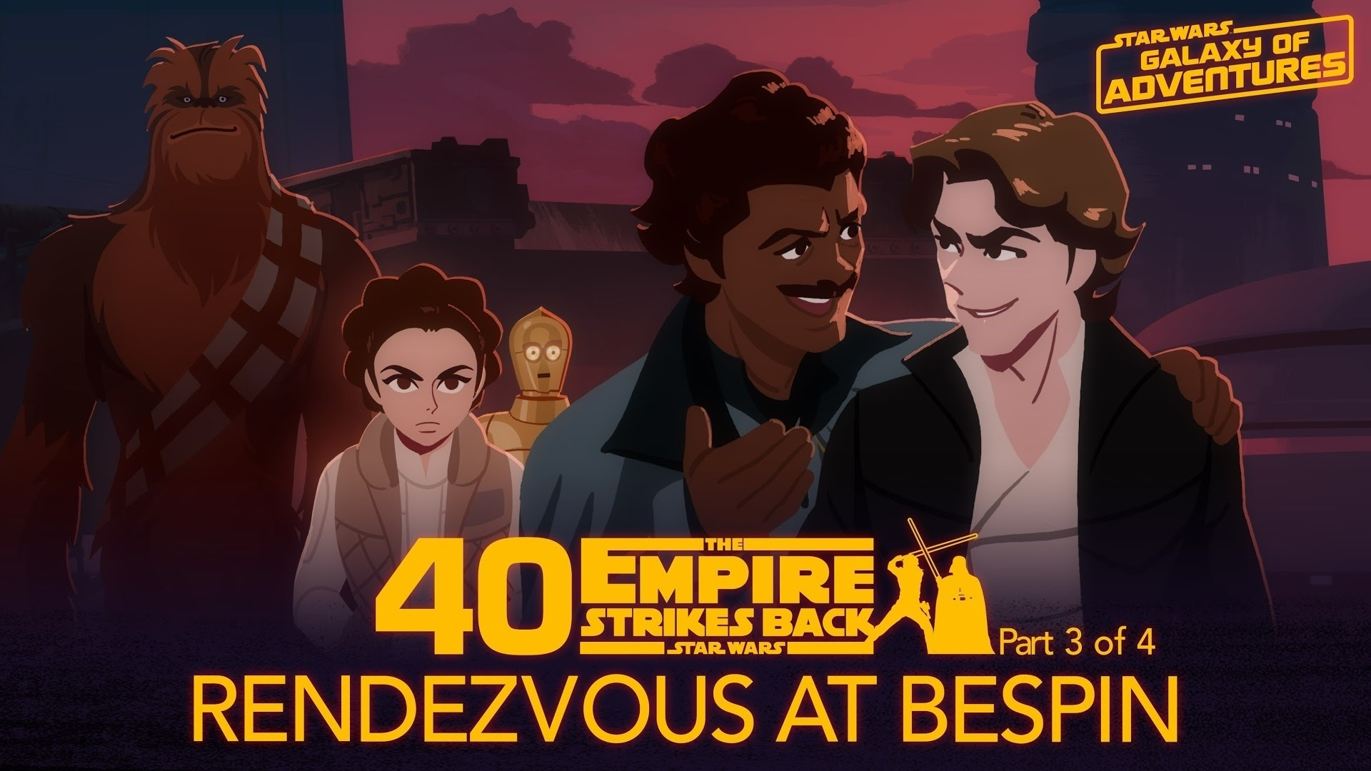 Rendezvous at Bespin | Star Wars Galaxy of Adventures
