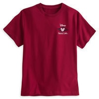 Disney Cruise Line Logo Tee for Boys - Red