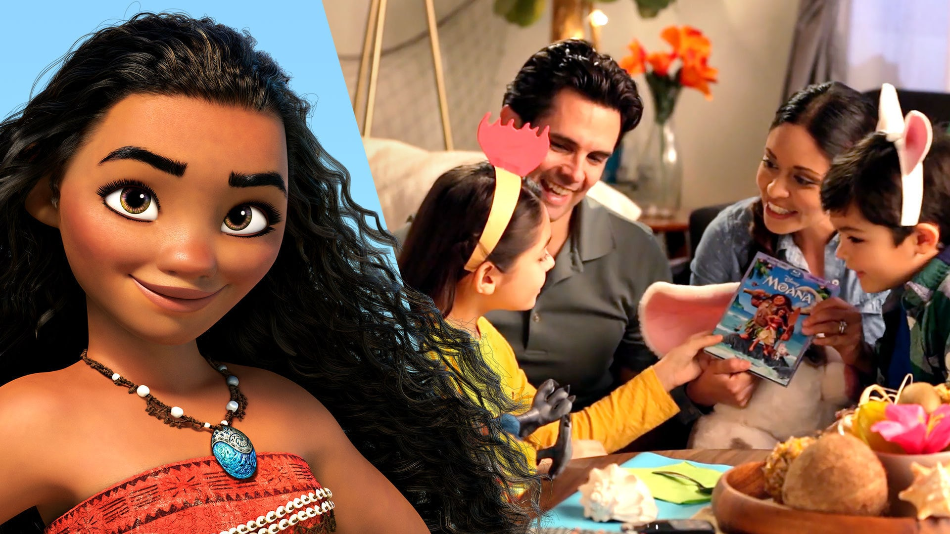 Create A Moana Themed Movie Night | Disney Family