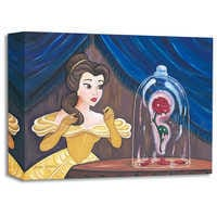 Image of Belle ''Enchanted Rose'' Giclée by Paige O'Hara # 1