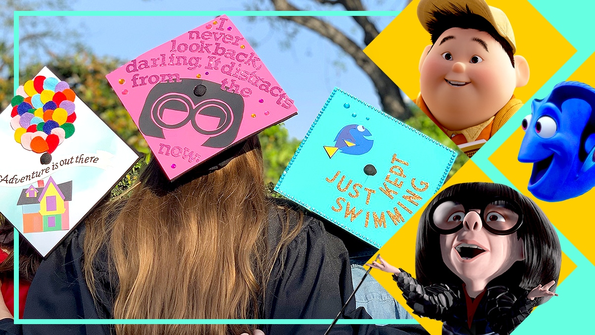 Disney•Pixar DIY Graduation Caps | DIY by Disney Style