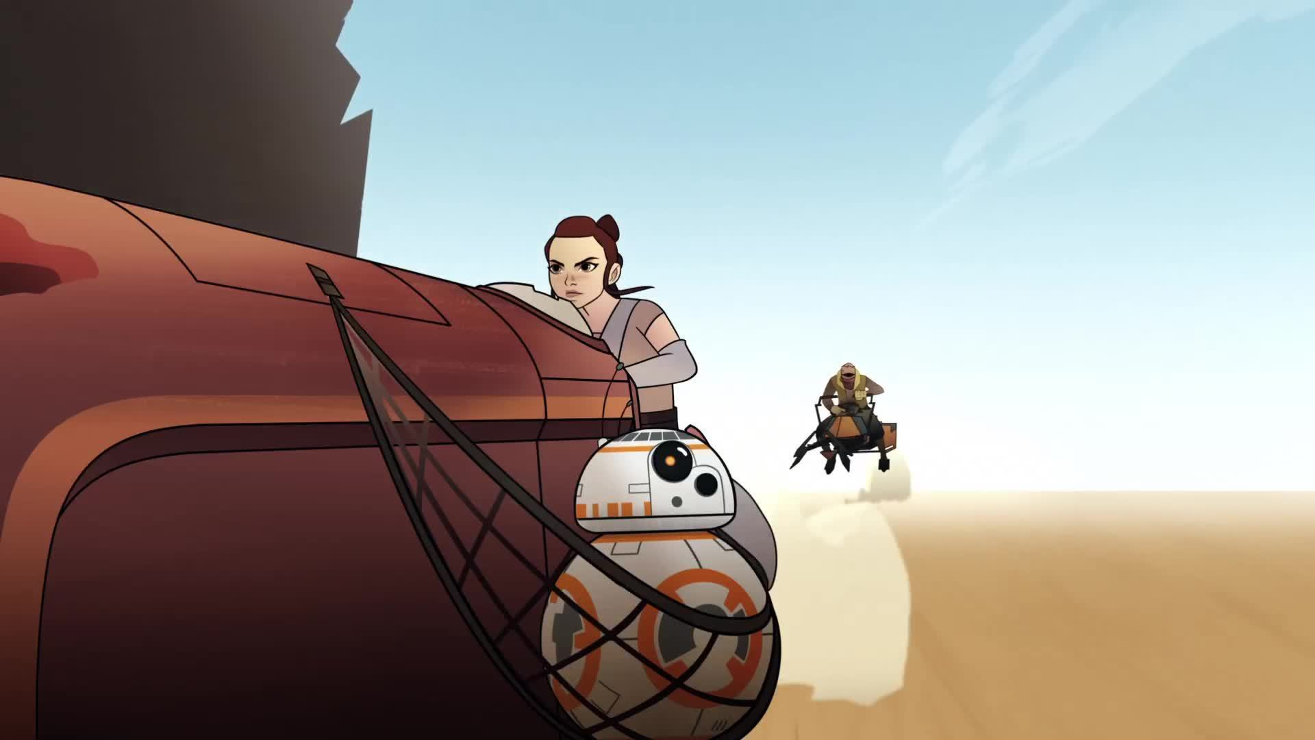 Star Wars Forces of Destiny Episode 2 | BB-8 Bandits | Disney
