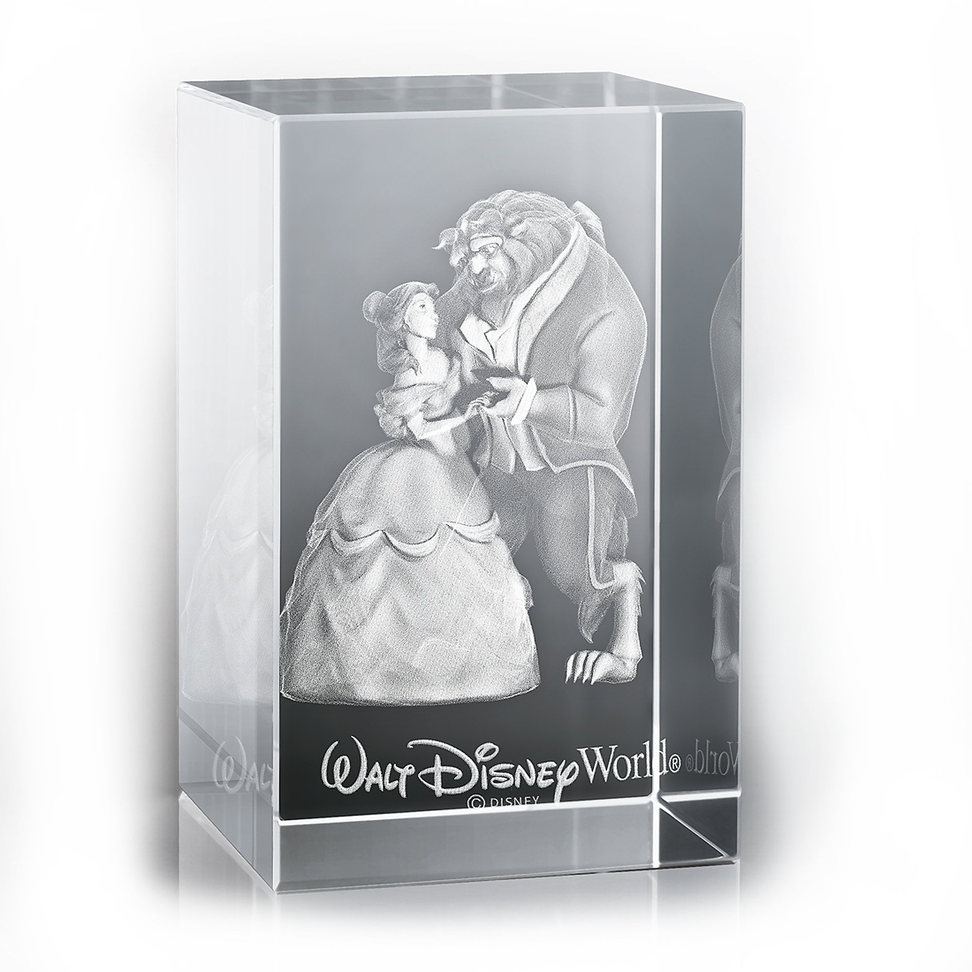 Beauty and the Beast Laser Cube by Arribas - Walt Disney World