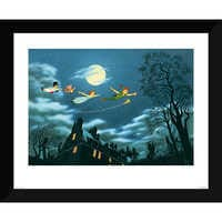 Image of Peter Pan ''And Away They Flew to Never Land'' Giclé # 1