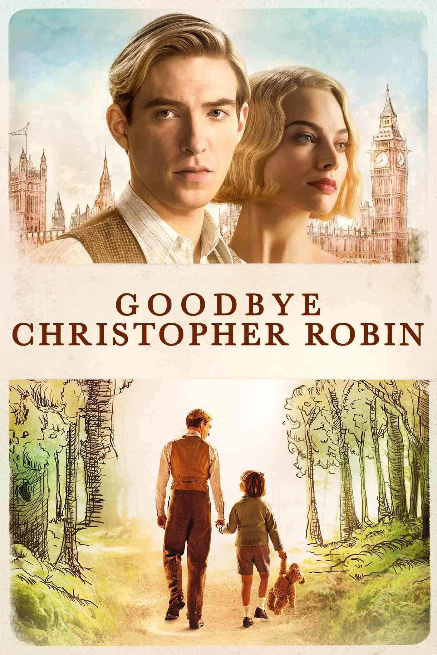 Goodbye Christopher Robin movie poster