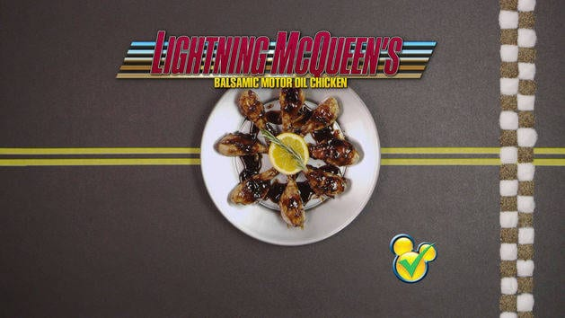 Dishes Inspired By Disney - Lightning McQueen's Motor Oil Chicken