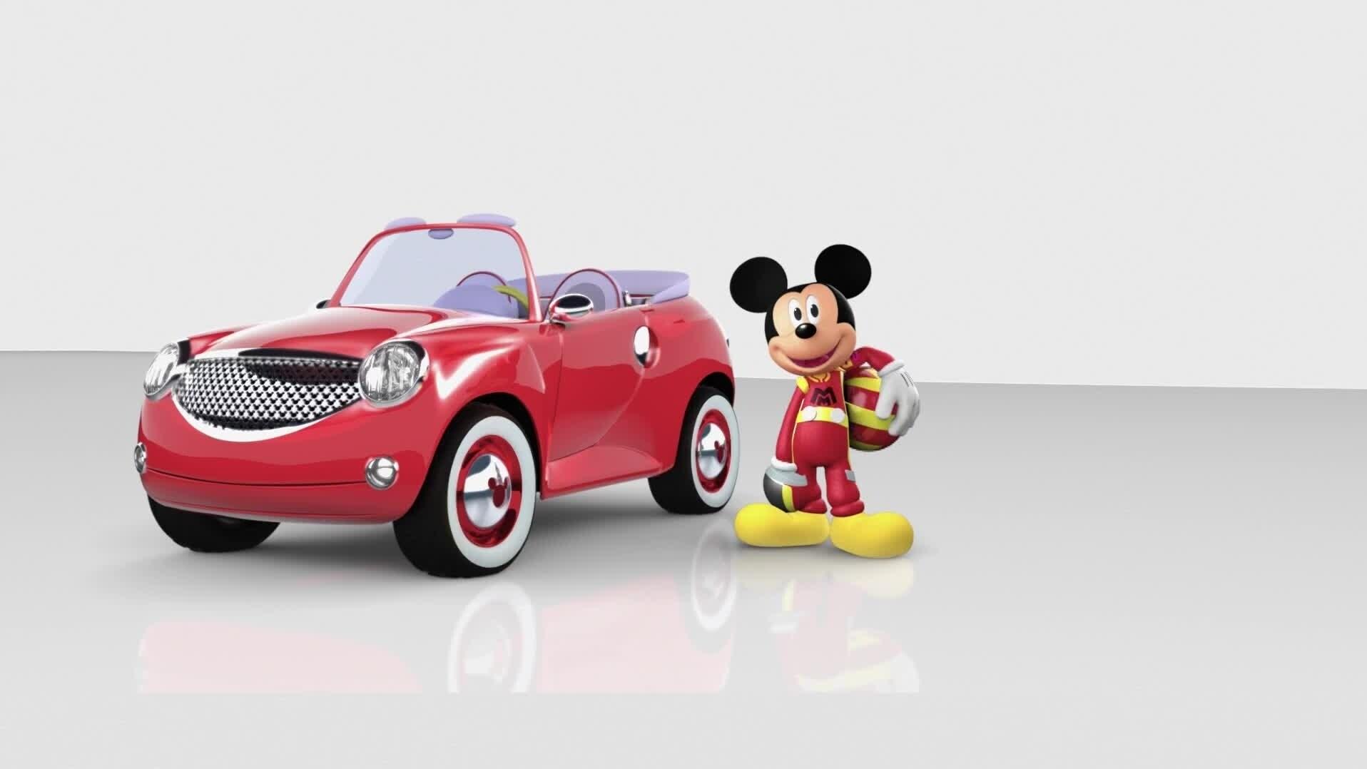 Mickey: Aventuras sobre ruedas - Primeras imágenes
