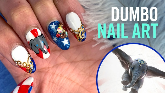 Dumbo Nail Art | TIPS by Disney Style