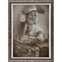 ''Walt in Train'' Giclée by Noah