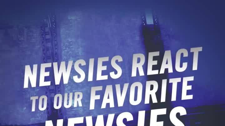 Newsies React to Our Favorite NEWSIES Moments: Recording The Cast Album