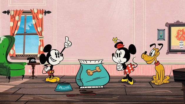 Mickey Shorts - In Vorm