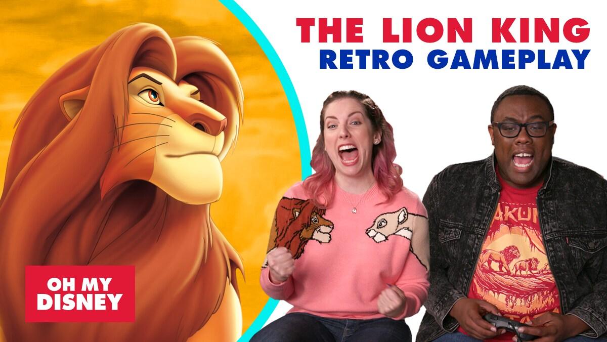 Retro Gameplay: The Lion King | Oh My Disney