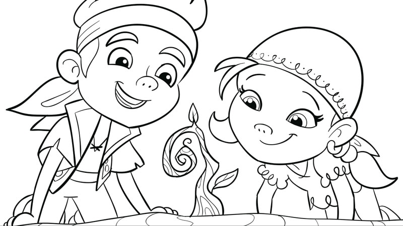 jake and izzy s forever tree sprout coloring pages disney junior